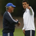 Ballack and Ancelotti