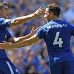 Morata and Fabregas