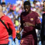 Barcelona Takut Akan Cedera Yang Di Alami Dembele