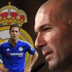 Hazard Memberi Code Untuk Zidane Pindah Ke Liga Spanyol