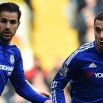 Hazard Sebut Cesc Fabregas Terbaik Dari Yang Terbaik