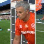 Ketika Jose Mourinho Beralih Menjadi Penjaga Gawang