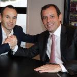 Kontrak Iniesta Resmi Di Perpanjang Di Barcelona