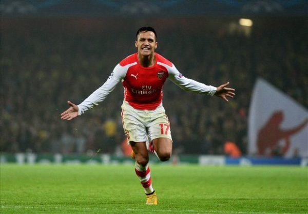 Peforma Sanchez Di Cintai oleh Para Fans Di Arsenal