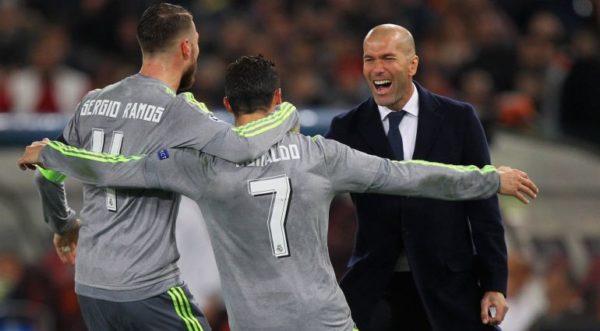 Zidane Mengatakan Christiano Ronaldo Seperti Robot Yang Di Rancang