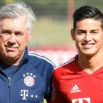 James Rodriguez Menjadi Tanda Tanya saat Ancelotti Dipecat