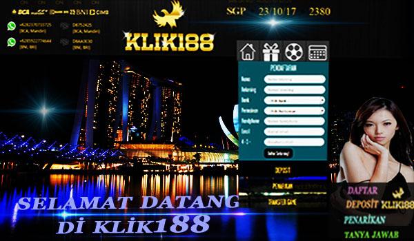 KLIK188 Agen Judi Bola Online