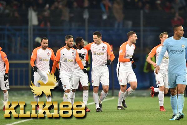 Hasil Pertandingan Shakhtar Donetsk vs Manchester City: Skor 2-1
