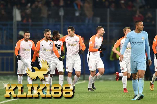 Skuat Shakhtar Donetsk Puas Kalahkan Manchester City