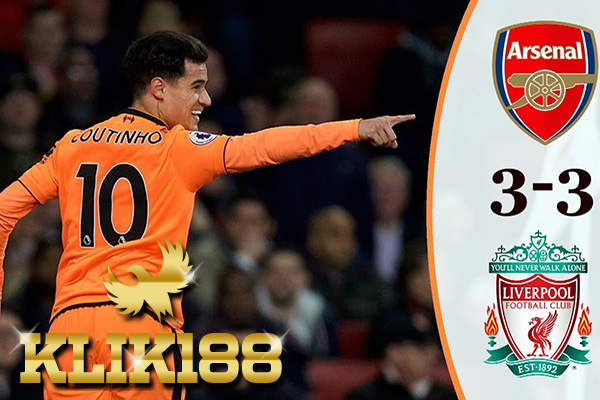 Laporan Pertandingan Sepakbola Arsenal VS Liverpool