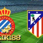 Laporan Pertandingan Sepakbola Espanyol VS Atlético Madrid