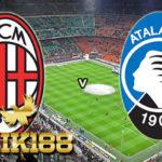 Laporan Pertandingan Sepakbola AC Milan VS Atalanta