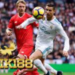 Hasil Pertandingan Sepakbola Real Madrid vs Sevilla Skor 5-0
