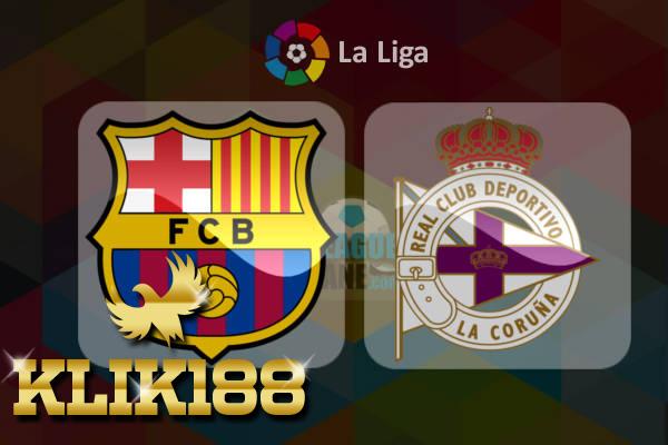 Prediksi Sepak Bola Barcelona VS Deportivo La Coruna