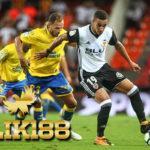 Laporan Pertandingan Sepakbola Las Palmas VS Valencia