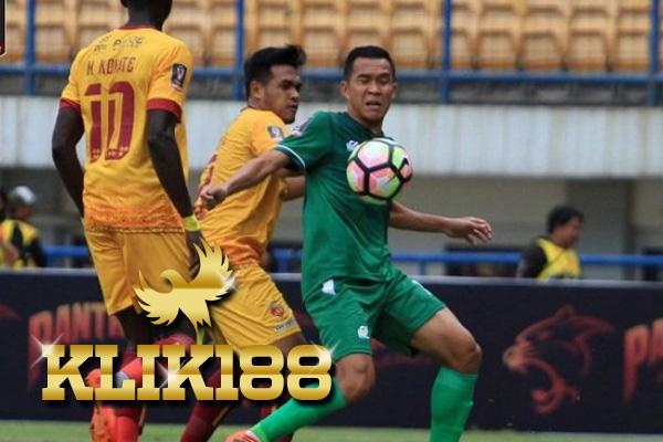 Laporan Pertandingan Sepakbola PSMS Medan VS Sriwijaya FC