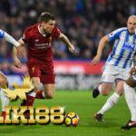 Laporan Pertandingan Sepakbola Liga Inggris Huddersfield VS Liverpool