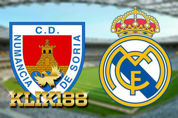 Laporan Pertandingan Sepakbola Numancia VS Real Madrid