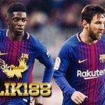 Lionel Messi Kesal Dengan Ousmane Dembele Saat Lawan Levante