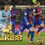 Laporan Pertandingan Sepakbola Barcelona VS Celta De Vigo
