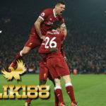 Laporan Pertandingan Sepakbola Liverpool VS Manchester City
