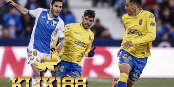 Laporan Pertandingan Sepakbola La Liga Leganes VS Las Palmas