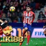 Laporan Pertandingan Sepakbola Atletico Madrid VS Valencia