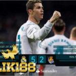 Memperkecil Jarak Ronaldo dan Messi di Top Skor Liga Spanyol