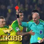 Wasit Ligue 1 Prancis Diskor Enam Bulan Karena Tendang Pemain