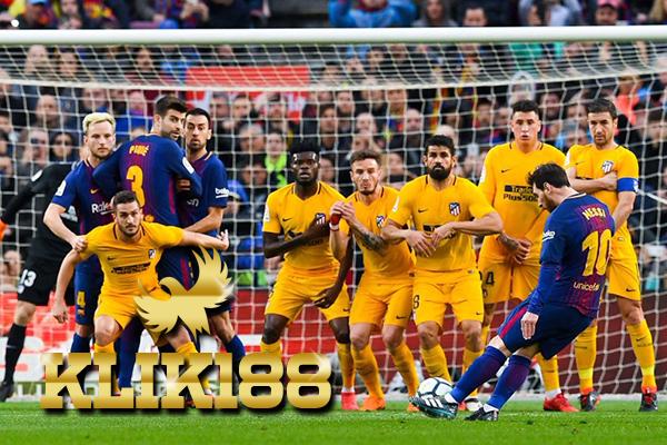 Laporan Pertandingan Sepakbola La Liga Barcelona VS Atletico Madrid