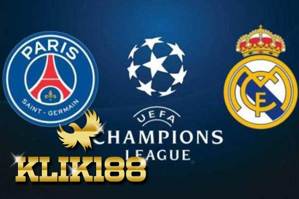 Prediksi Pertandingan Sepakbola Paris Saint Germain VS Real Madrid