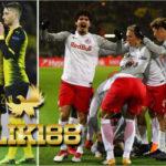 Laporan Pertandingan Sepakbola Borussia Dortmund VS RB Salzburg