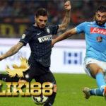 Laporan Pertandingan Sepakbola SerieA Inter Milan VS Napoli