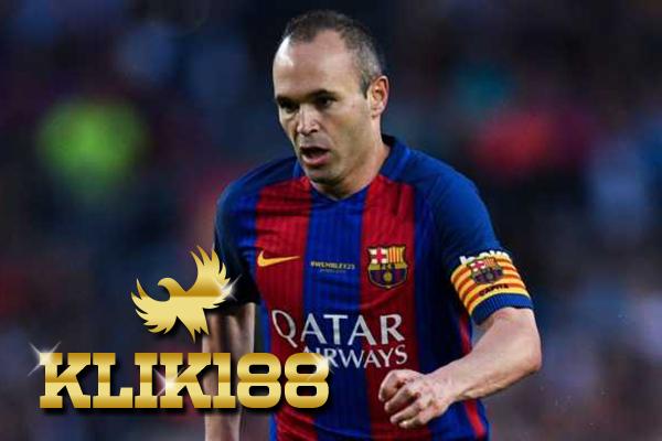 Barcelona Kembali Diperkuat Andres Iniesta Lawan Chelsea