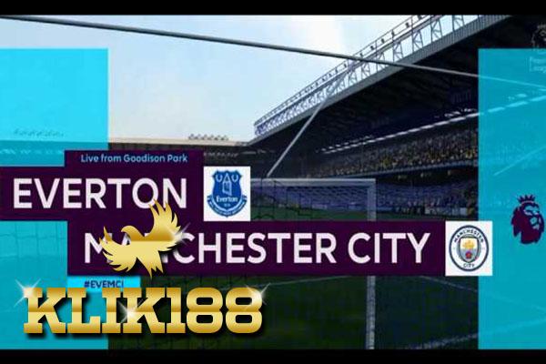 Prediksi Pertandingan Sepakbola Everton vs Manchester City